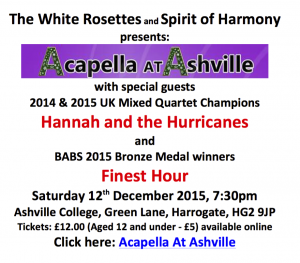 The White Rosettes and Spirit of Harmony
